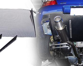 HKS Kansai - Rear Diffuser - Subaru GDB