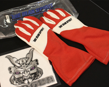 The Man Spirit - Auto Racing Gloves 0055