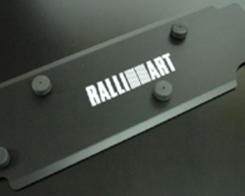 Ralliart - Engine Plug Cover - Black
