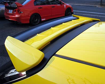 Seeker - Two Piece Rear Wing - Civic EK