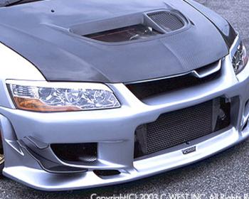 C-West - N1 Front Bumper - Evo 8/9