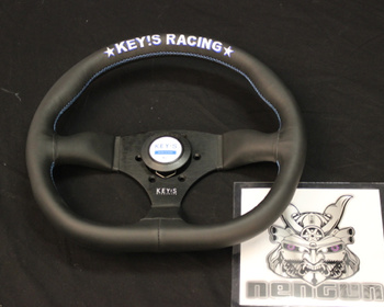 KEY'S Racing - Steering Wheel - D-Shape Type