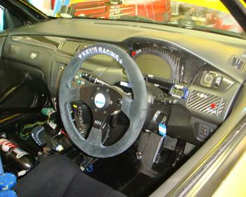 Key's Racing - Steering Wheel - Flat Type