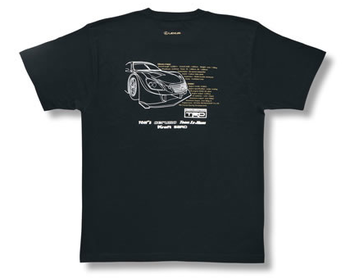 TRD - 2010 Collection - TRD Test Car T-Shirt - Back