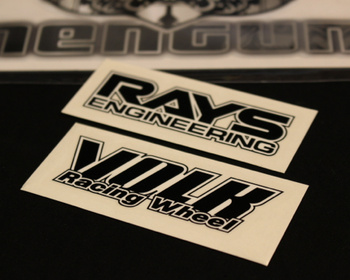 RAYS - Volk Racing TE37 Wheel Stickers
