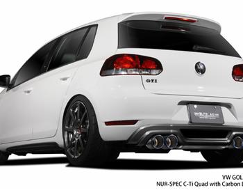 Blitz AG - NUR-SPEC Exhaust System - Golf GTI