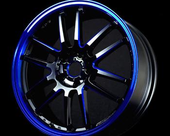 57 Ultimate SC - BK/SC/rim DC Blue