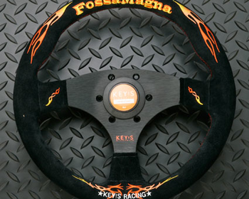 KEY'S Racing - Fossa Magna - Flat Type - Steering Wheel