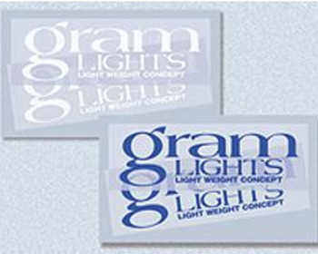 Gram Lights - 200mm x 65mm - Blue/White