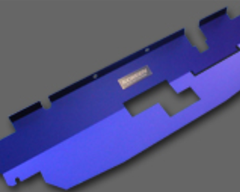 Screen Powers - Titanium Hood Panel