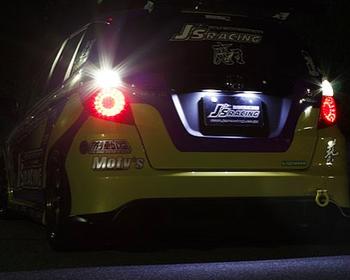 J's Racing - Stellar V - LED Tail Lights - Clear