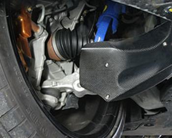 Kansai Service - Brake Cooling Air Guide
