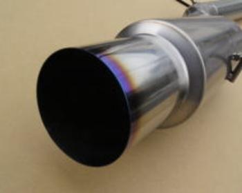 Unlimited Works  - Single Titanium Muffler