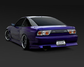 G-Corporation - Flash S13 Sil-80 - Full Wide Body Kit