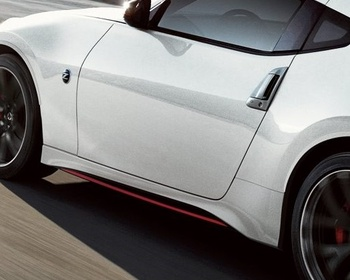 Nismo - Right Side Skirt (Part No. 76850-6GA0H) and Left Side Skirt (Part No. 76851-6GA0H)