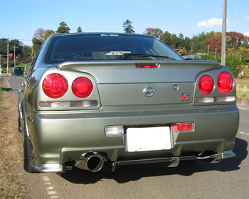 East Bear - Rear Bumper & Diffuser - R34