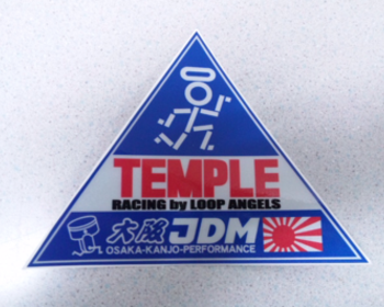 Osaka JDM - Temple Racing Collab Sticker