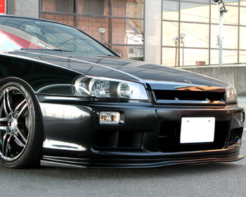 URAS - GT Lip - Nissan ER34 Skyline