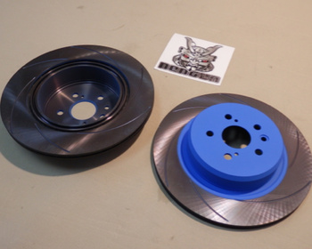 Endless - Brake Rotors - Curving Slit