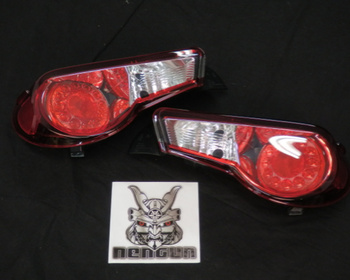 Colored Tail lens Red & Clear - Toyota - 86 - ZN6 (Send us your set to be changed)