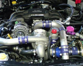 ... introduces the HKS Super Charger Complete Kit for the Toyota GT86 NZ6