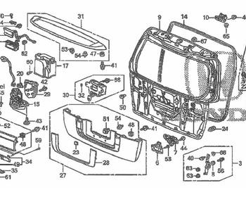 Honda - OEM Parts - Elysion
