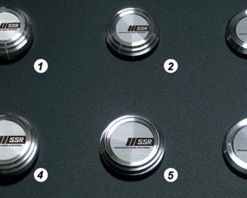 SSR - Wheel Cap options