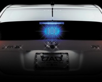 Garson - D.A.D LED Illuminate Plate - Monogram