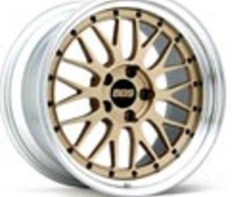 BBS LM Wheels - Gold/Silver