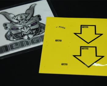 TRD - Cylinder sticker set