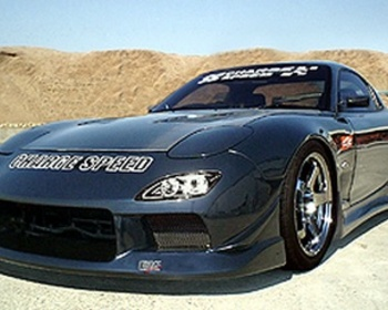 ChargeSpeed - RX7 wide Body kit
