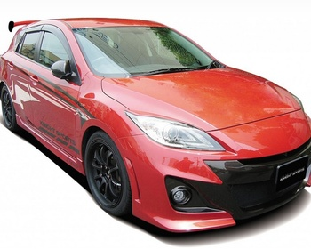 Knight Sports - FRONT BUMPER SPOILER for AXELA