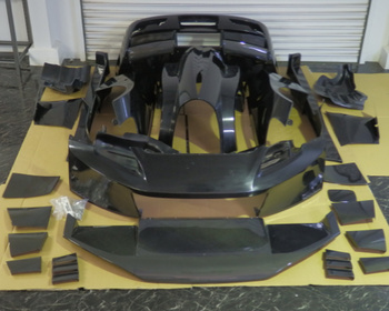 GTK-S1-C - Wide Body Kit with Carbon 1 to 11