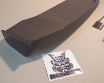 J's Racing - 3D GT-WING WET CARBON