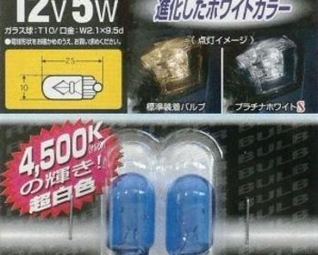 Raybrig - R330 T10 4500k bulbs