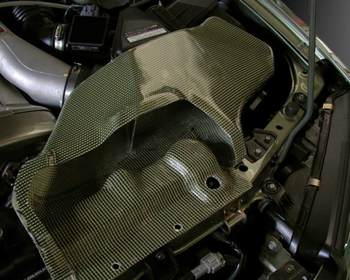 Mine's Air Filter Duct - R34 GTR