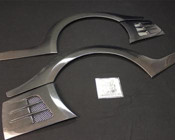 Top Secret - Nissan R35 Rear Over Fender