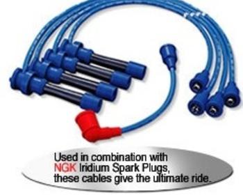 NGK - Suzuki Spark Plug Power cables
