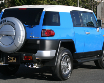 Ganador - PBS Exhaust for FJ Cruiser