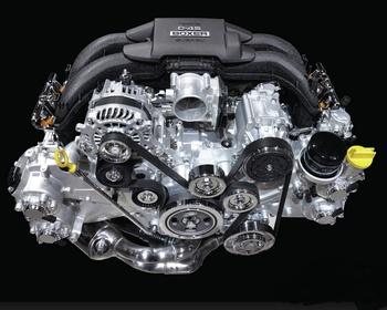 Subaru - New BRZ engine