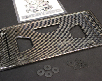 Lems - Carbon Rear Number Plate Frame