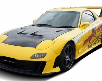Knight Sports - Mazda RX7 FD3S Front Bumper Type 7