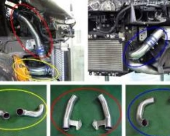 HKS - NISSAN GTR R35 INTERCOOLER PIPING