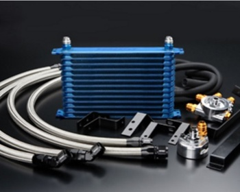Greddy - GReddy Oil Cooler Kit- Oil Element Removal Type