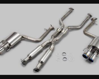 TOM'S - Titanium Exhaust - Lexus RCF