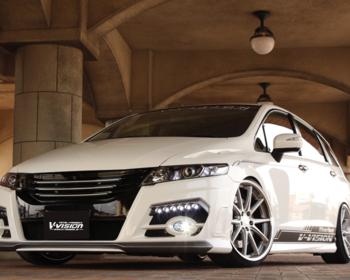 V-Vision - Honda Odyssey RB3 Aero Parts