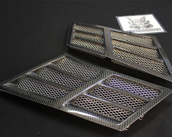 Top Secret - Front Carbon Fender Ducts for R35