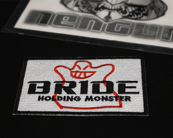 Bride - Bakemon Holding Monster Patch