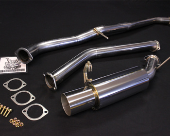 Be Free - Stainless Steel Muffler