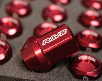 RAYS - L32 Duralumin Straight Lock & Nut Set (5H)